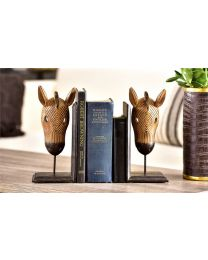 Horse Design Bookends (2pc)