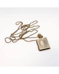Rectangle Locket Necklace