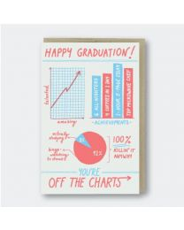 You're Off the Charts Graduation Card