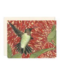 Hummingbird Healer Card