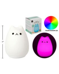 Cat Silicone Touch Light