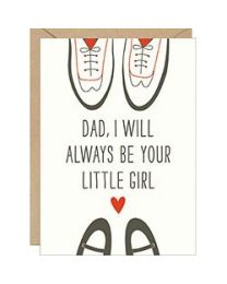 DAD'S LITTLE GIRL CARD