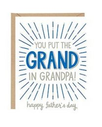 GRAND IN GRANDPA CARD