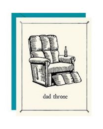 DAD THRONE CARD