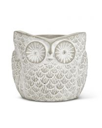Textured Owl Planter - Small