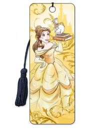3D BOOKMARK - BEAUTY AND THE BEAST - BELLE TEAPOT
