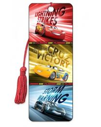 3D BOOKMARK - CARS - VICTORY IS MINE