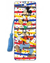 3D BOOKMARK - MICKEY - DON'T WORRY BE GOOFY