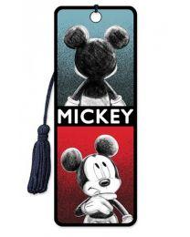 3D BOOKMARK - MICKEY - SKETCH