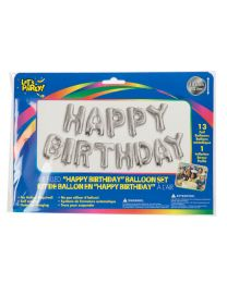 "Let's Party ""HAPPY BIRTHDAY"" Foil Balloon"