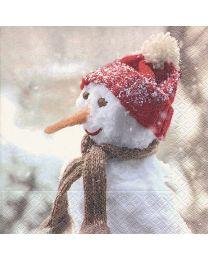It's Cold - Luncheon Napkin