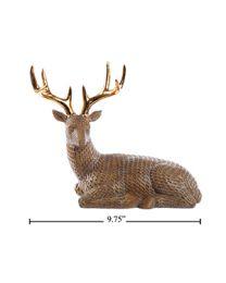 Sitting Deer Figurine