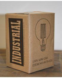 Vintage Round Light Bulb 60W - E26