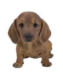 Pet Pals - Dachshund Sitting - Brown