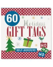 Gift Tag Stickers - Ho Ho Ho