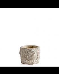 Alder Bark Drop Pot - Small