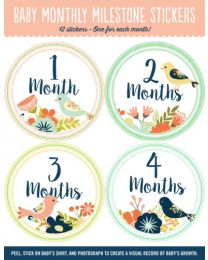 BABY STICKERS - BIRDS