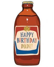 Birthday Beer - Greeting Card