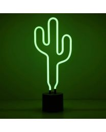 Neon Light Cactus