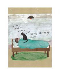 Wakey Wakey Card