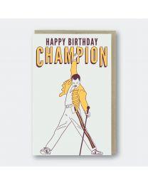 Happy Birthday Champion Card