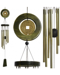 Wind Chime, Chinese Coin, 8 Tube chimes