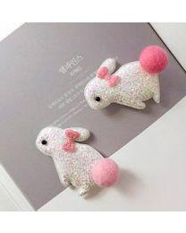 Pearl Rabbit Hairpin