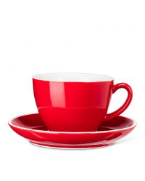 Diner Latte/Tea Cup and Saucer