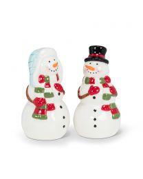 Dressed Snowmen Salt & Pepper