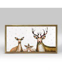 Flower Deer Family by Eli Halpin