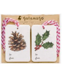 Winter's holiday Joy Tags (10pc)