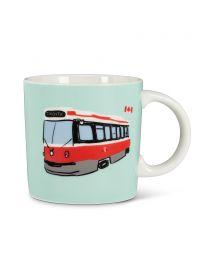 Toronto Streetcar Mug by Wendy Tancock