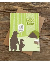 TO MY PAPA BEAR Card