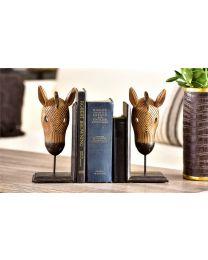 HorseDesignBookends (2pc)