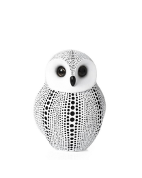 Debossed Dotted Owl - White