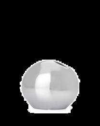 Orb Pod Silver Vase - Small