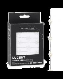 Lucent Mini Star Shape 20 LED Battery Light String