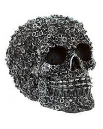 Iron Skull Decor