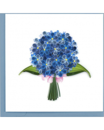 HYDRANGEA Quilling Card