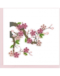 CHERRY BLOSSOM Quilling Card