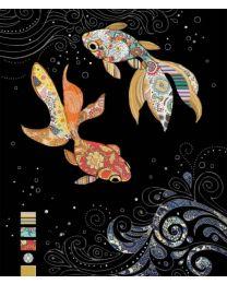 JEWELS - FISH - BLANK Card