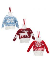 Winter Sweater Ornament