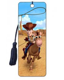 3D BOOKMARK - TOY STORY - WOODY AND BULLSEYE