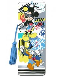 3D BOOKMARK - MICKEY - STAY COOL