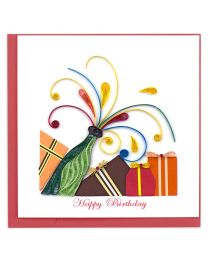 Pop It Birthday Quilling Card