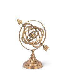 Folding Armillary Sphere with Arrow