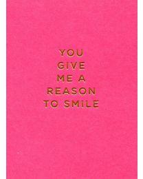 Reason to Smile Mini Card - Greeting Card