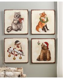 Forest Animal Design Wall Plaque