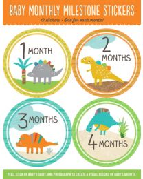BABY STICKERS - DINOSAURS