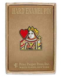 ENAMEL PIN - QUEEN OF HEARTS